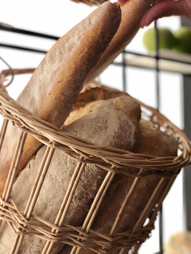 Every day fresh bread