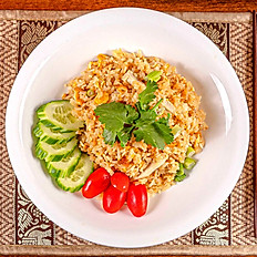Ginger Coconut Fried Rice