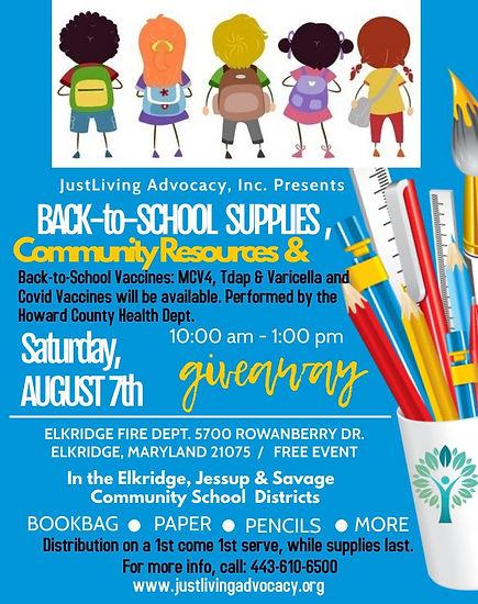 JLA Back-to-School Supplies Giveaway Saturday August 7 2021.jpg