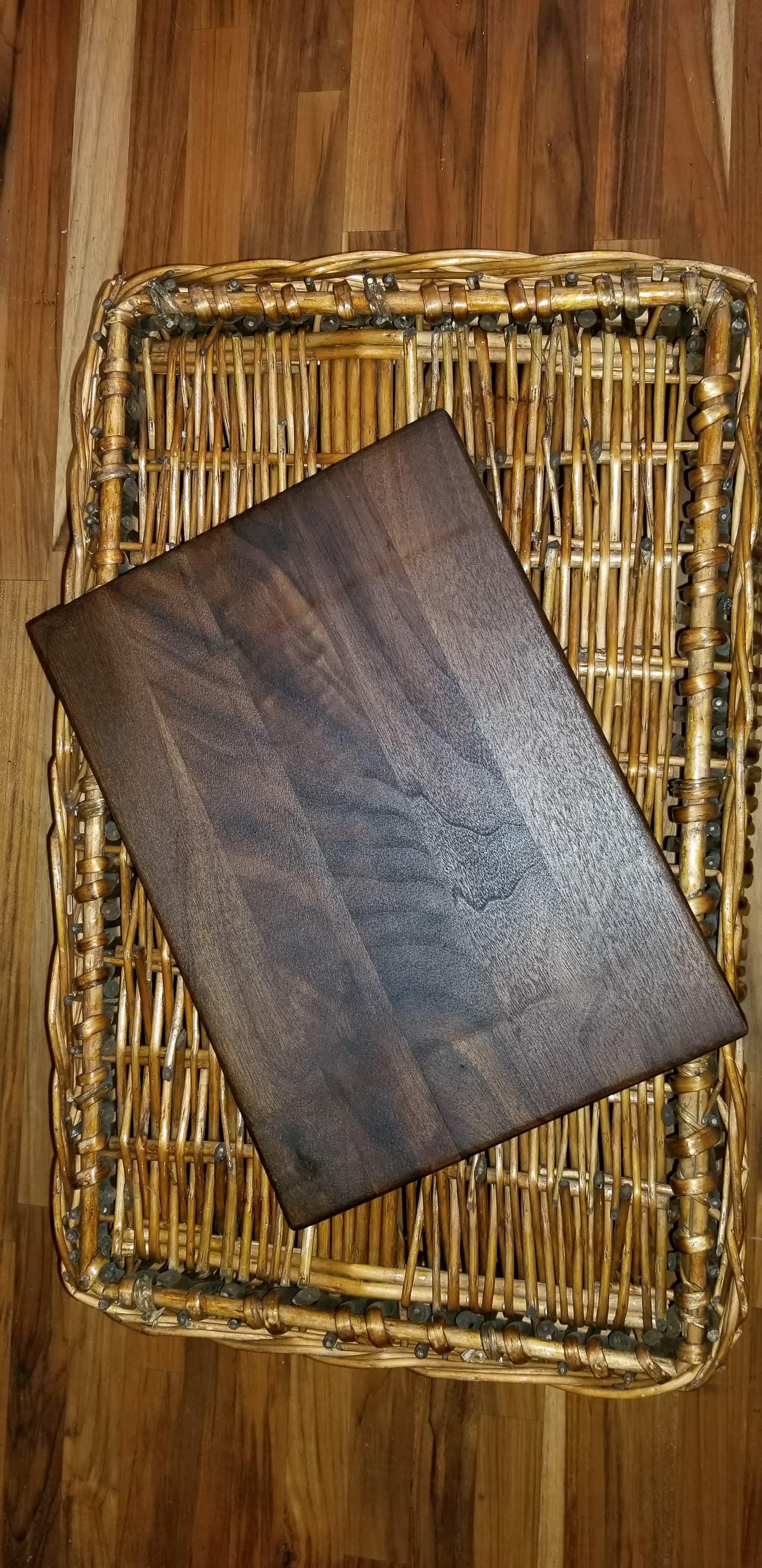 $50 - black walnut-12x9
