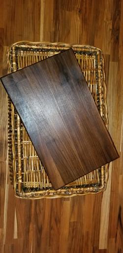 75 - 15 x 9 x 1.25 Black Walnut