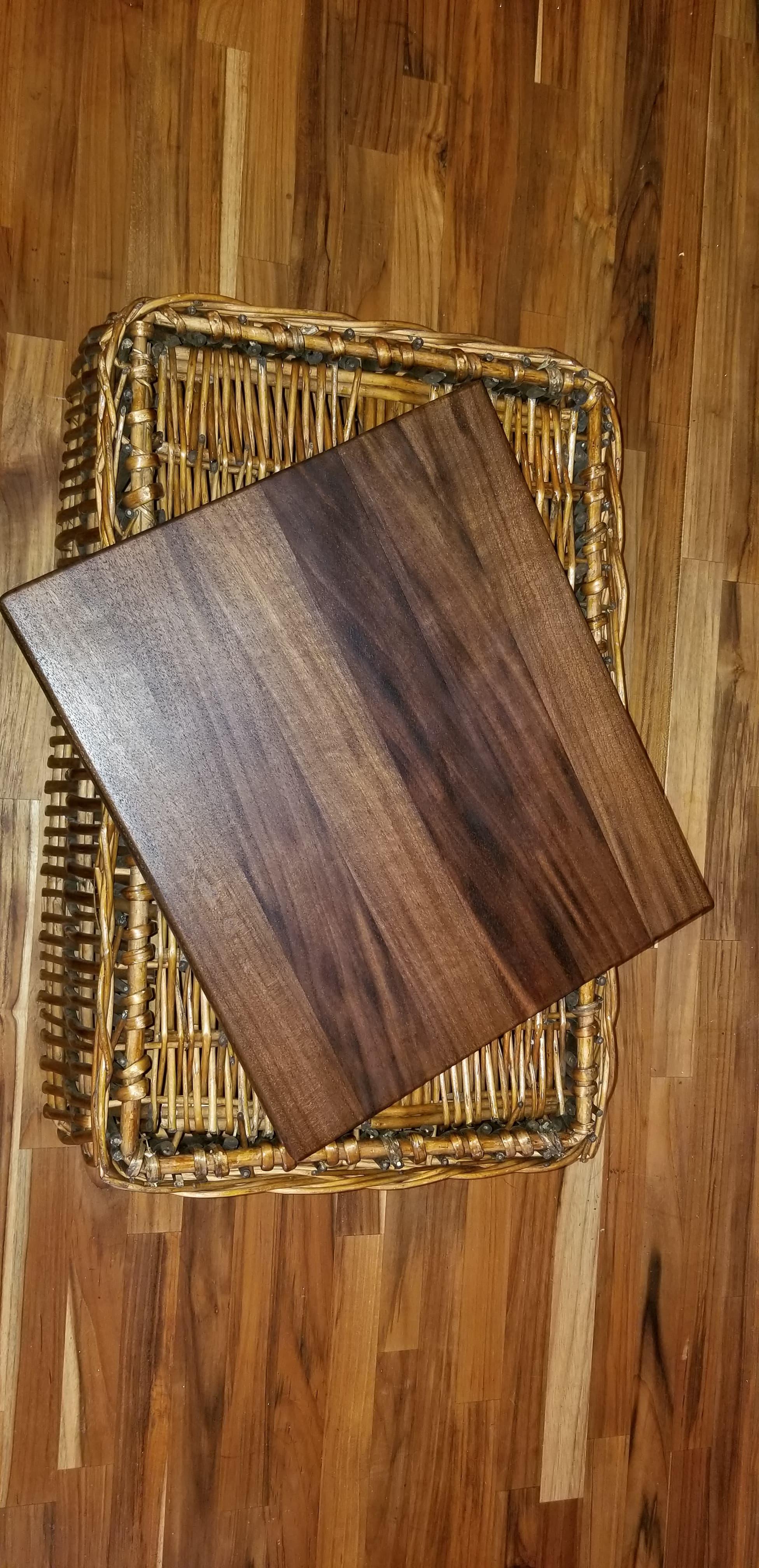 $75 - black walnut-14x12