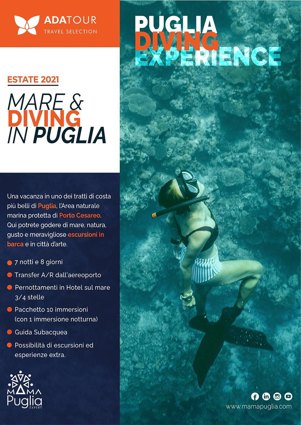 Puglia Diving Experience Sub in puglia Mare ITalia