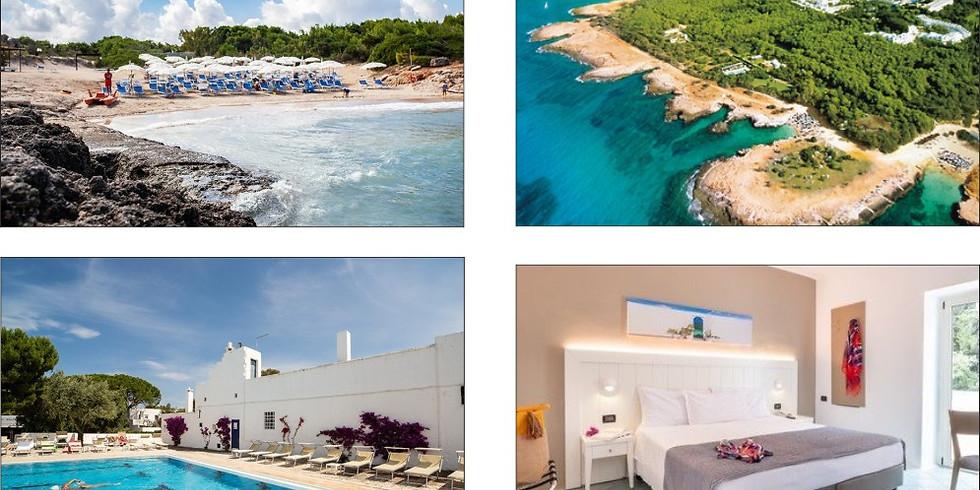 Ostuni Resort - 1 settimana (29 ago/05 sett) All Inclusive per Famiglia (2+2)+visita e esperienza Vini Bio a Alberobello