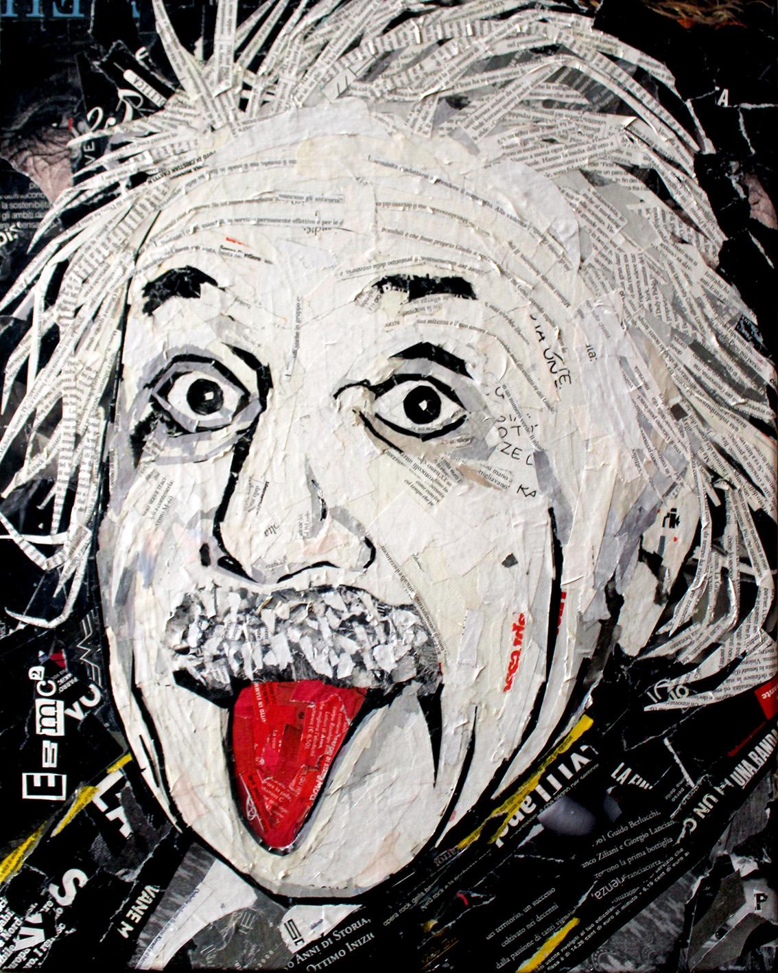 Albert Einstein 50x40 cm