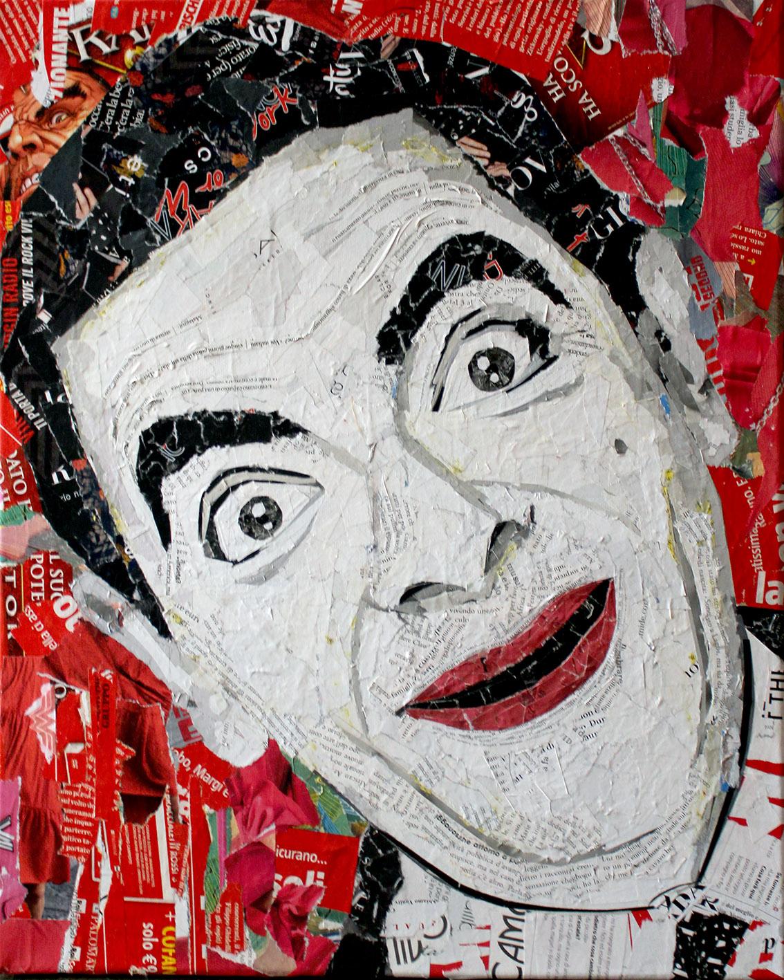 Mr Bean 50x40 cm