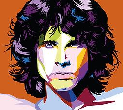 Wpop Art Jim Morrison