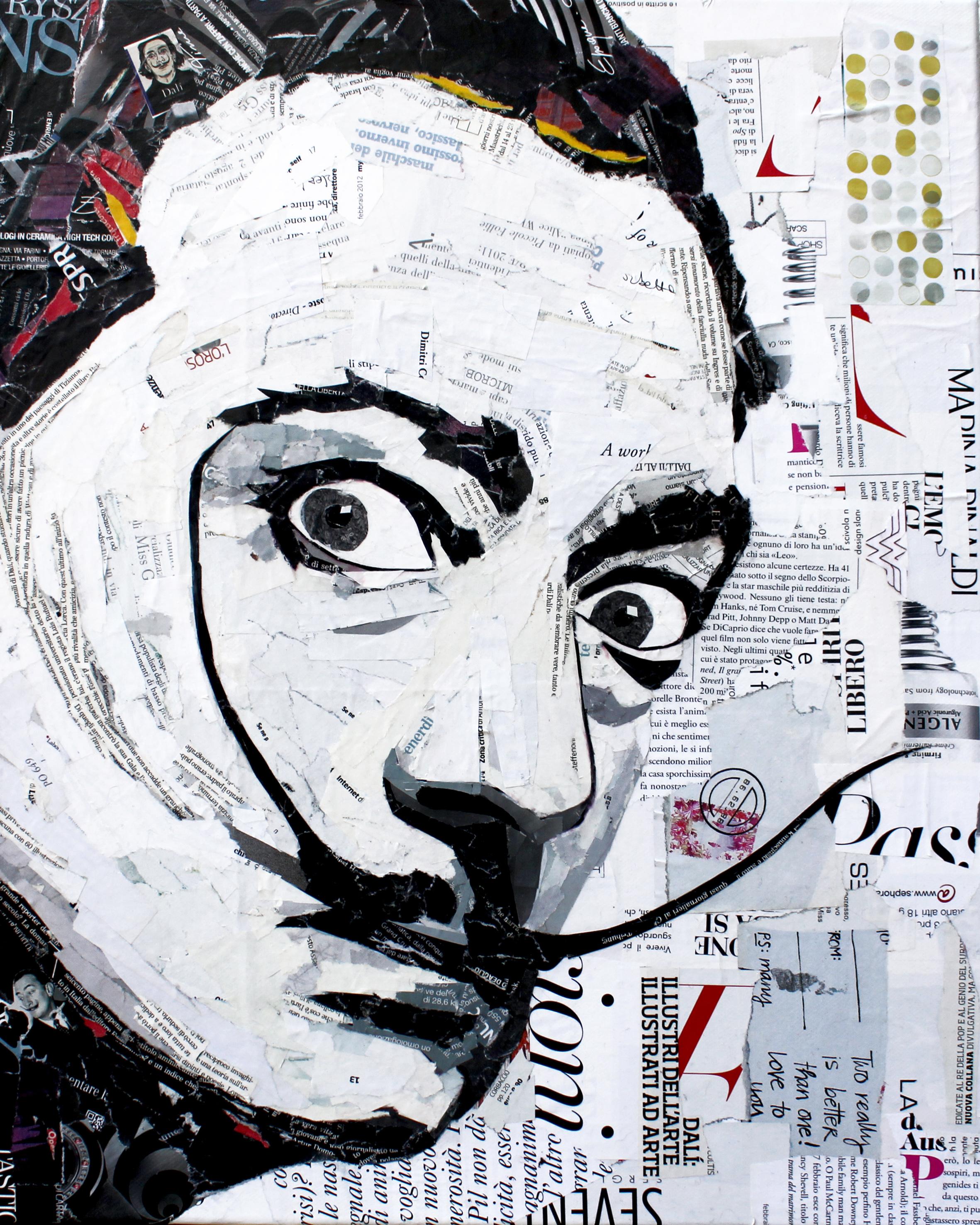 Salvador Dalì 50x40 cm
