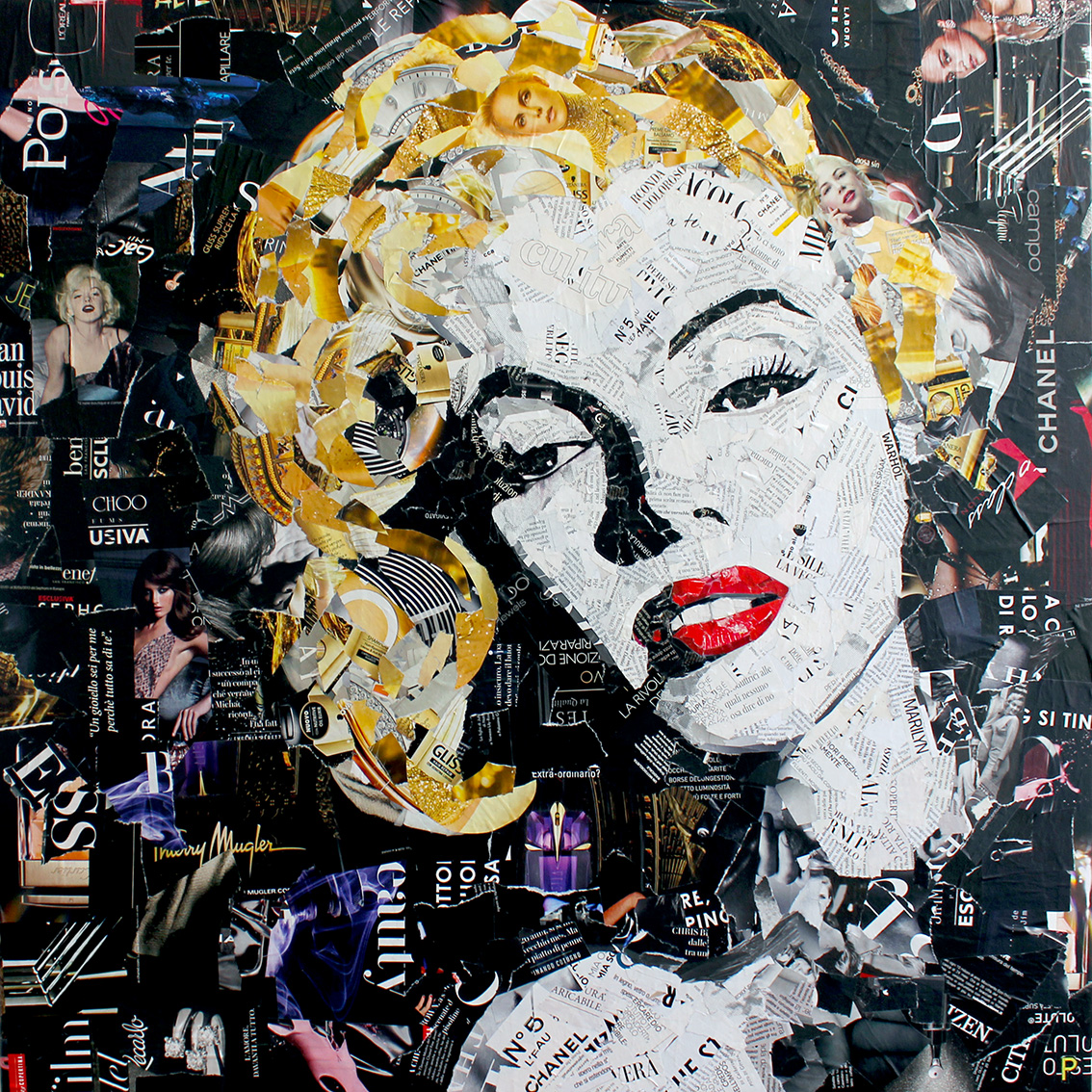 Marilyn Monroe 80x80 cm