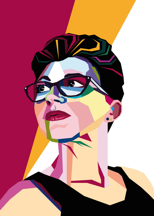 WPAP Vector Portrait