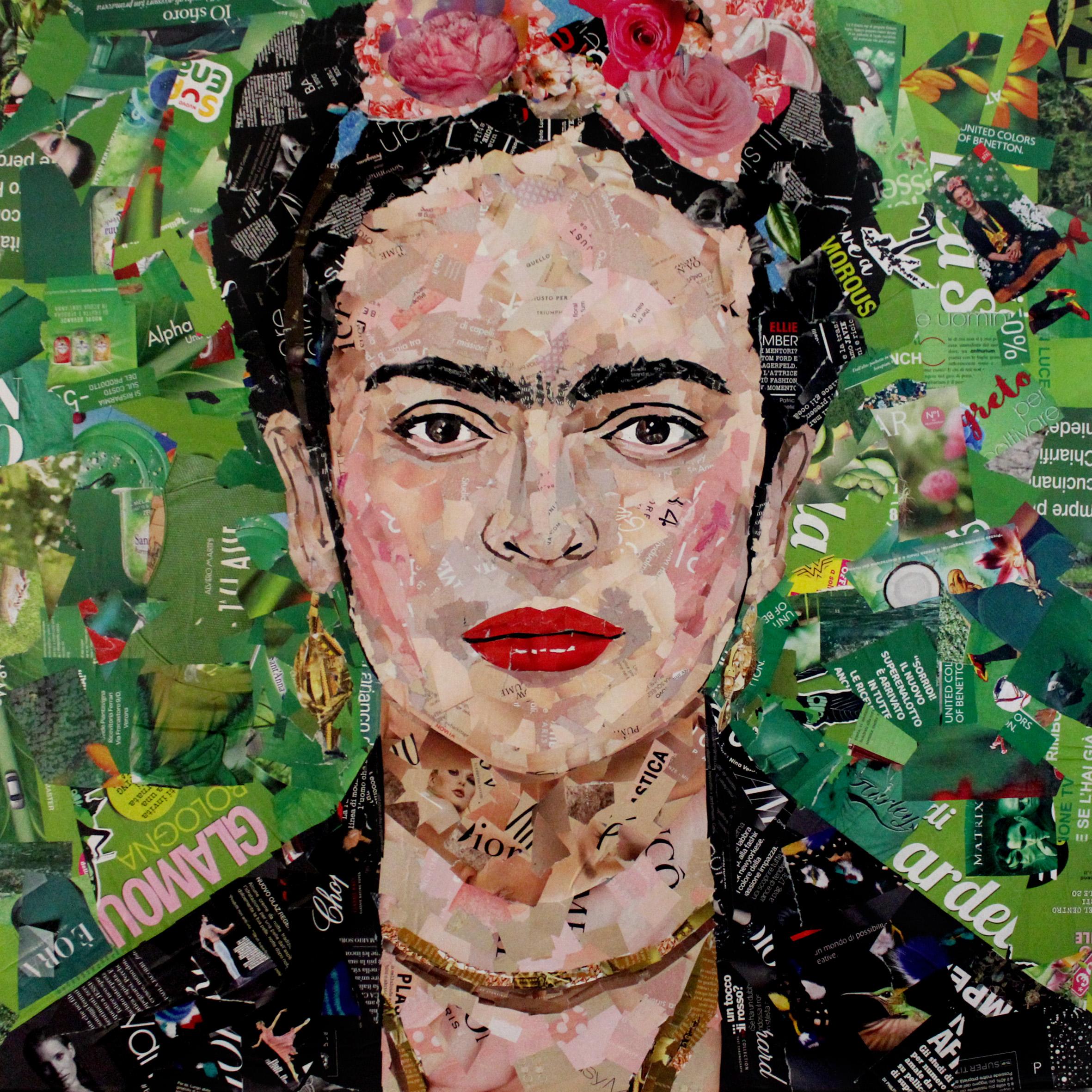 Frida Kahlo 80x80cm