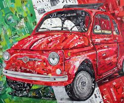 500 Rossa 100x120 cm