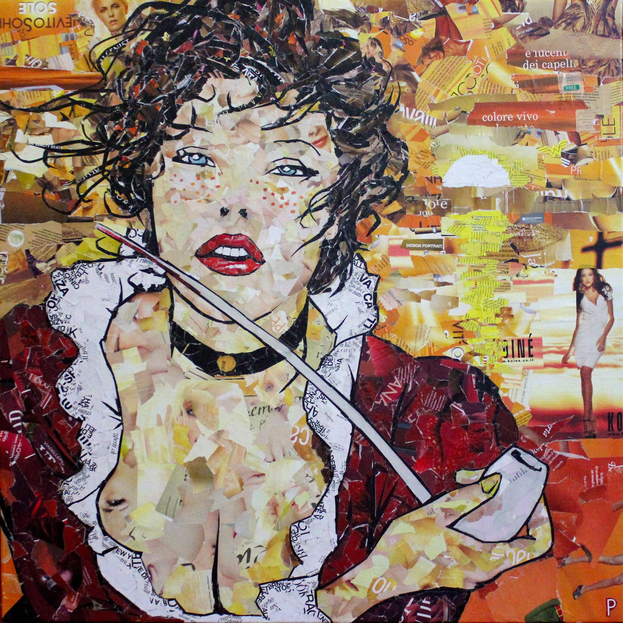 Manara - Collagework 90x90cm