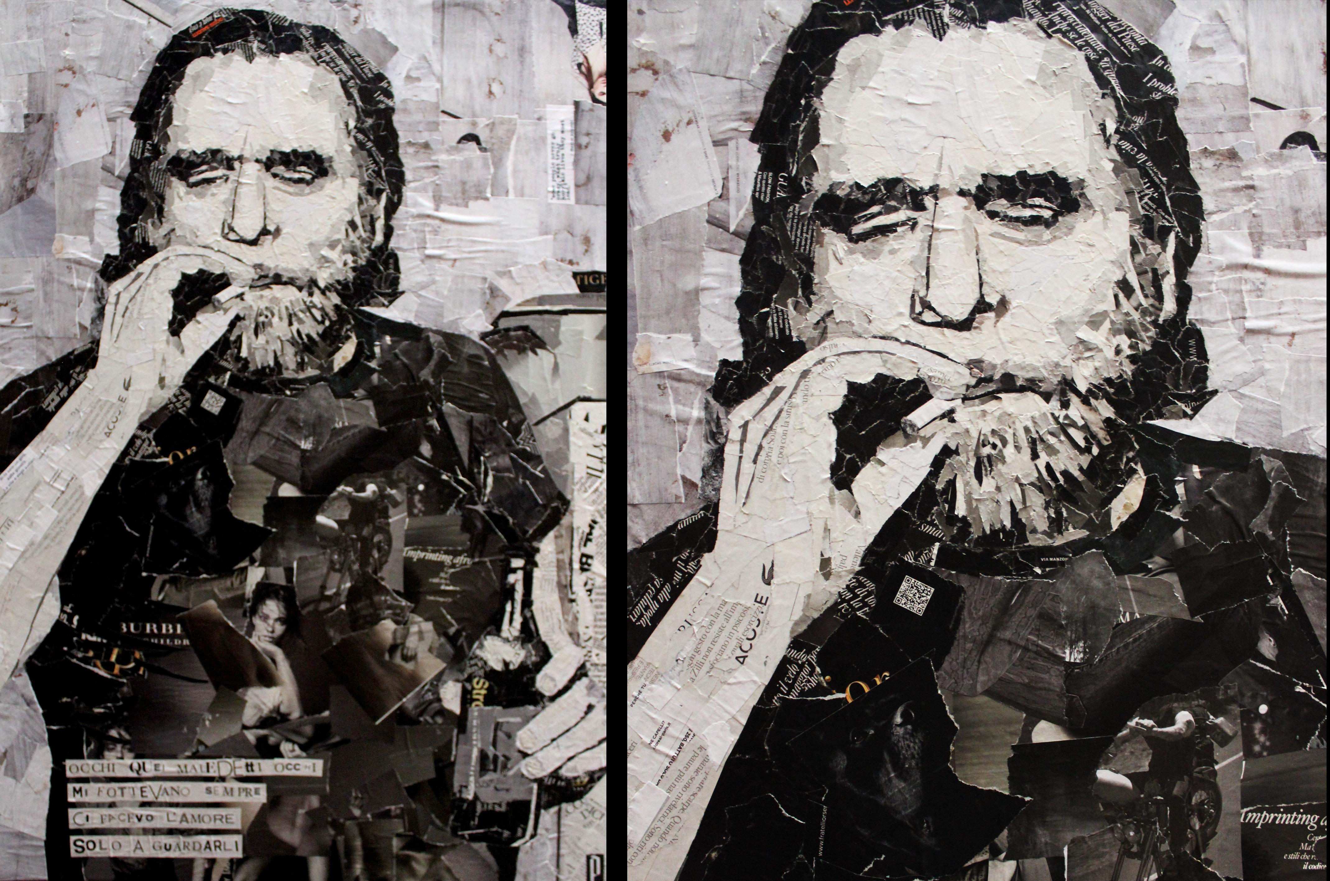 Charles Bukowski 100x70 cm