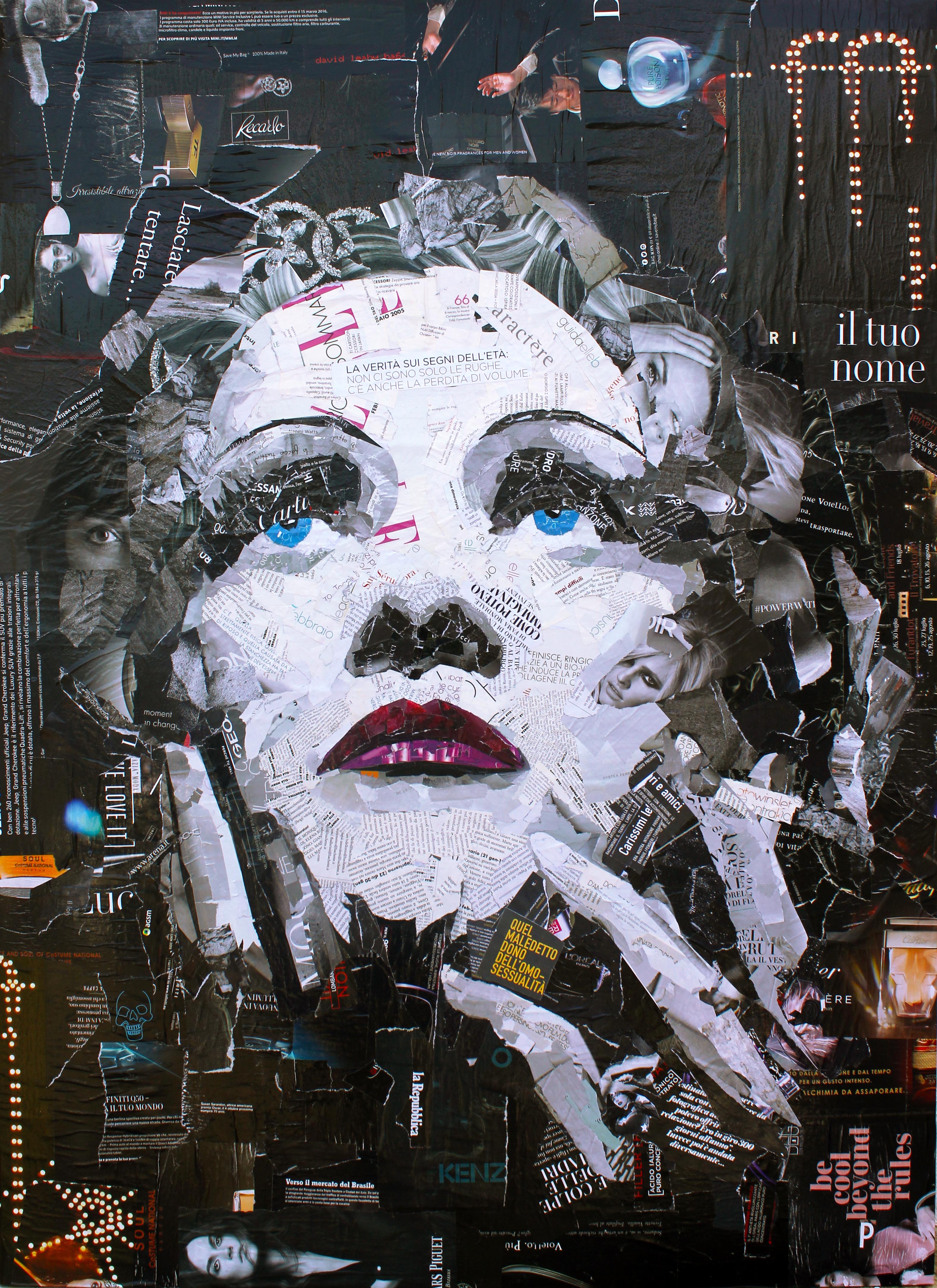 14 - Marlene Dietrich 80x110cm
