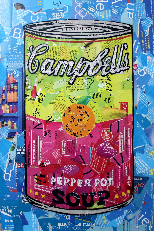 Soup Campbell's 40x60cm
