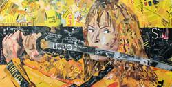 07 - Kill Bill 120x60cm