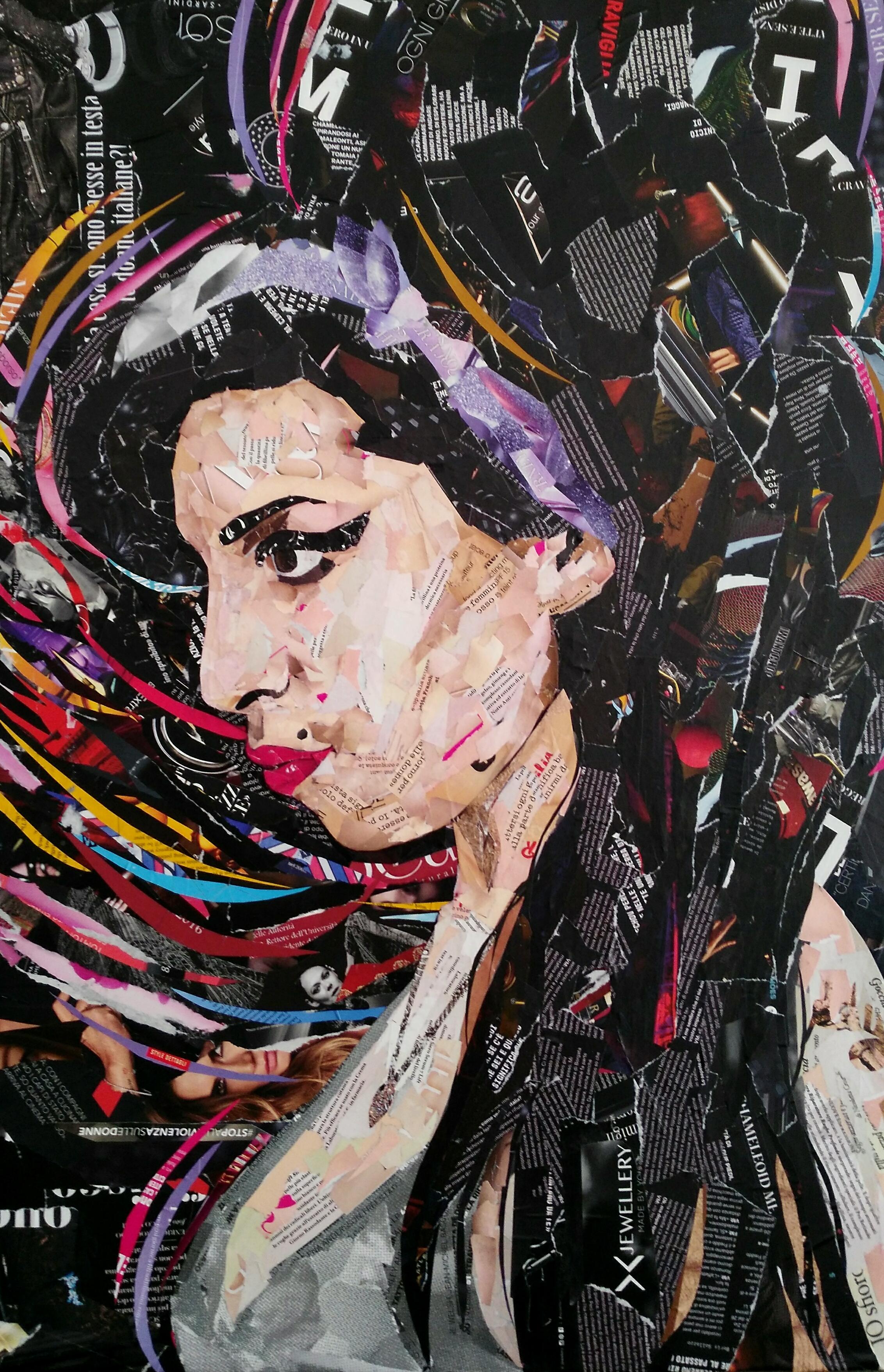 Amy Winehouse 90x60 cm