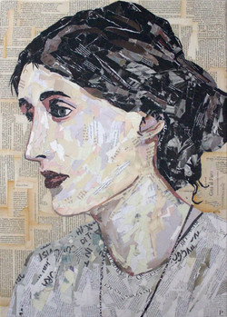 Virginia Woolf 70x50cm