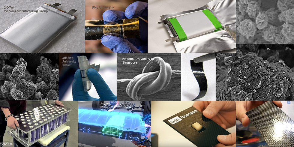 Batteries & Supercapacitors: Material Innovations