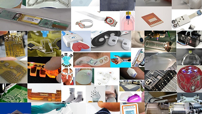 Printed, Flexible, Hybrid, & InMold Electronics