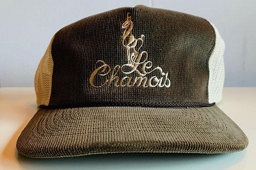 Richardson Old School Baseball Hat - Brown Corduroy withTan
