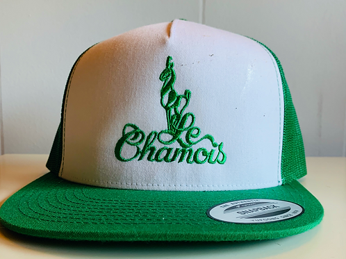 Snapback Green and White