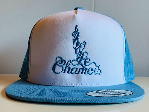 Snapback Light Blue and White