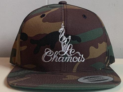 Snapback Camo Baseball Hat