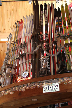 Our little ski museum
