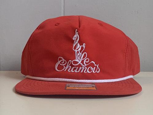 Chamois Old School Baseball Hat - Red