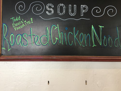 All our soup is Homemade!