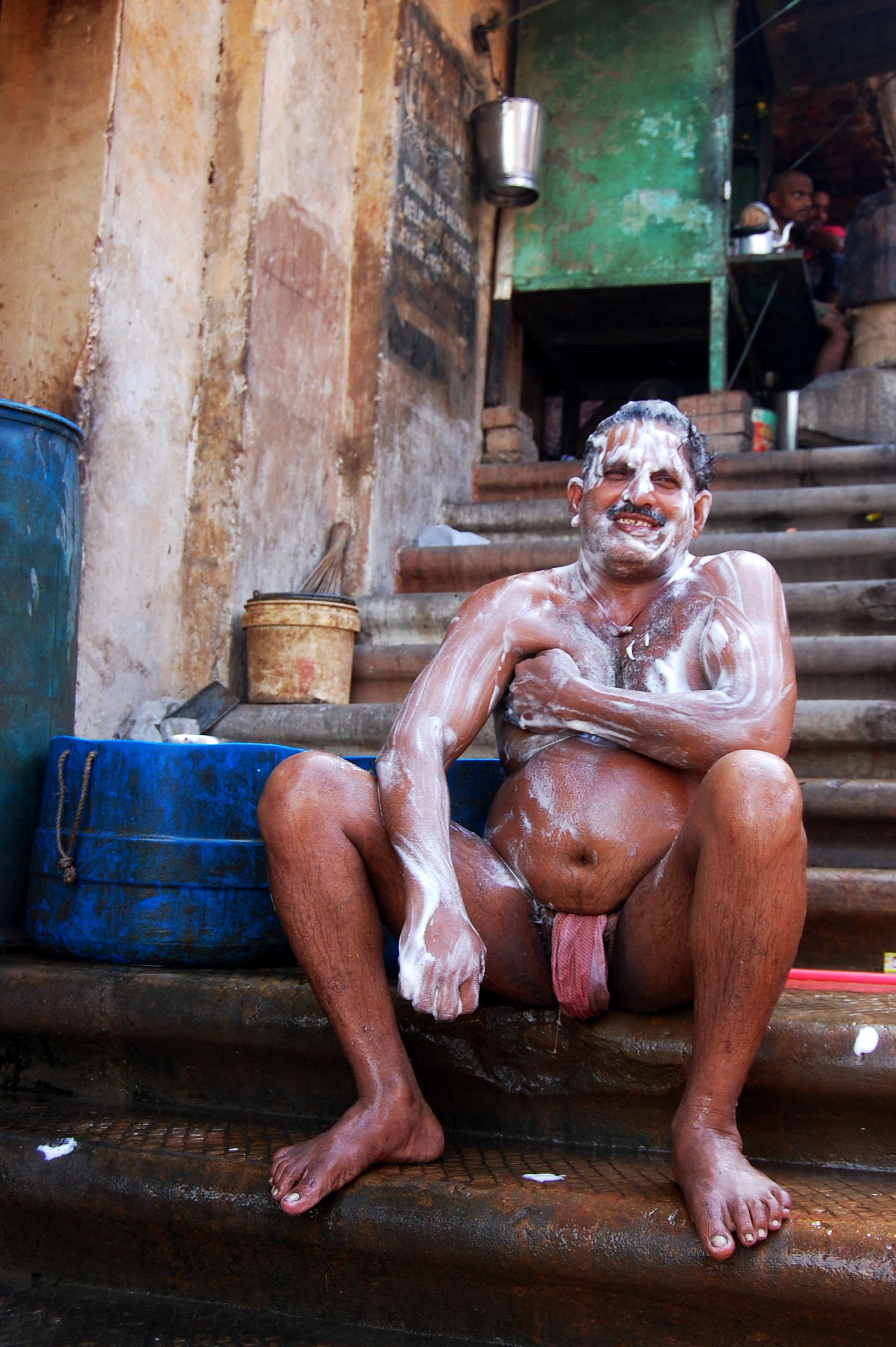Varanasi, India - Bath Time