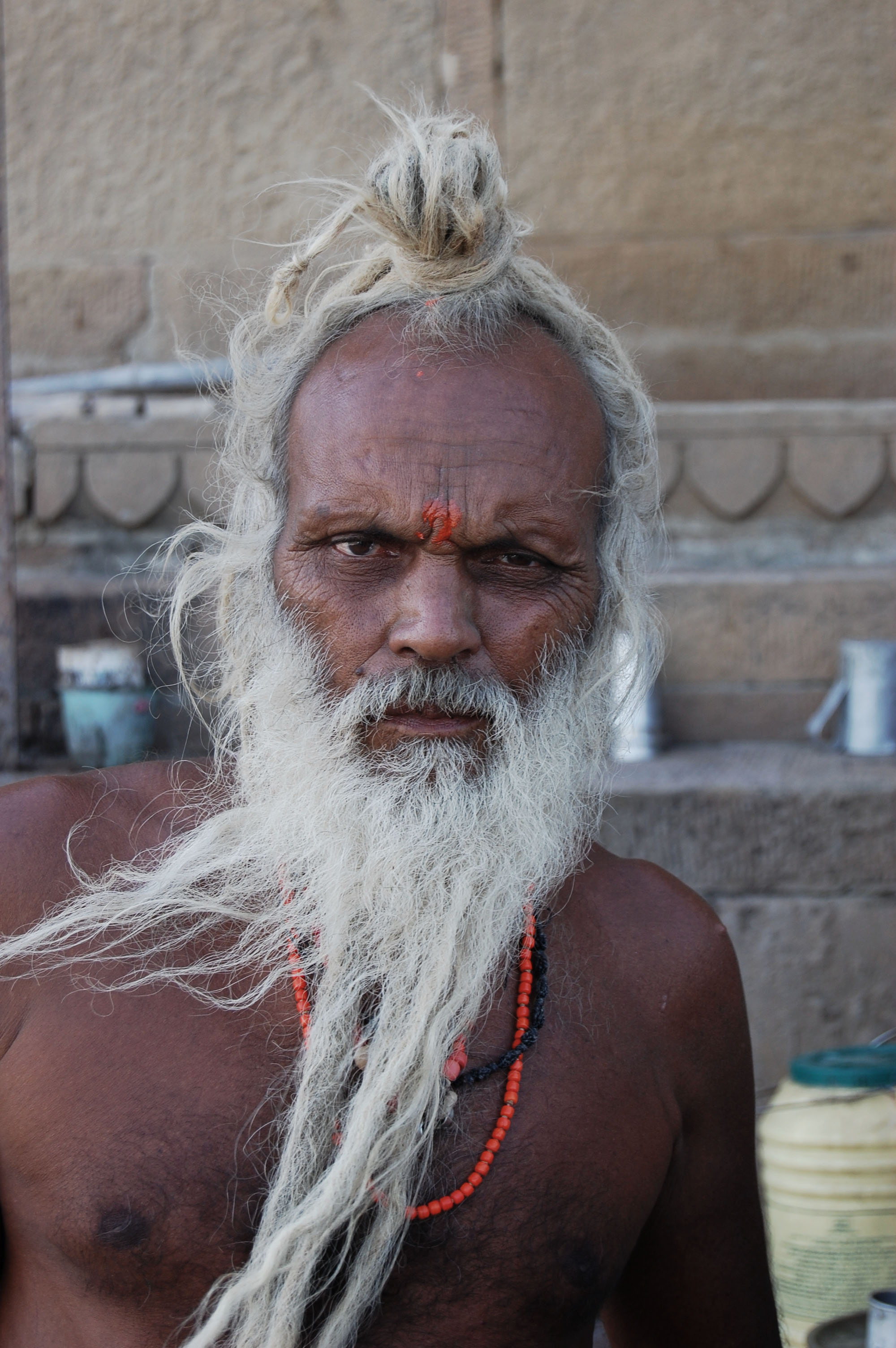 Varanasi, India - Sadhu, Holy Man