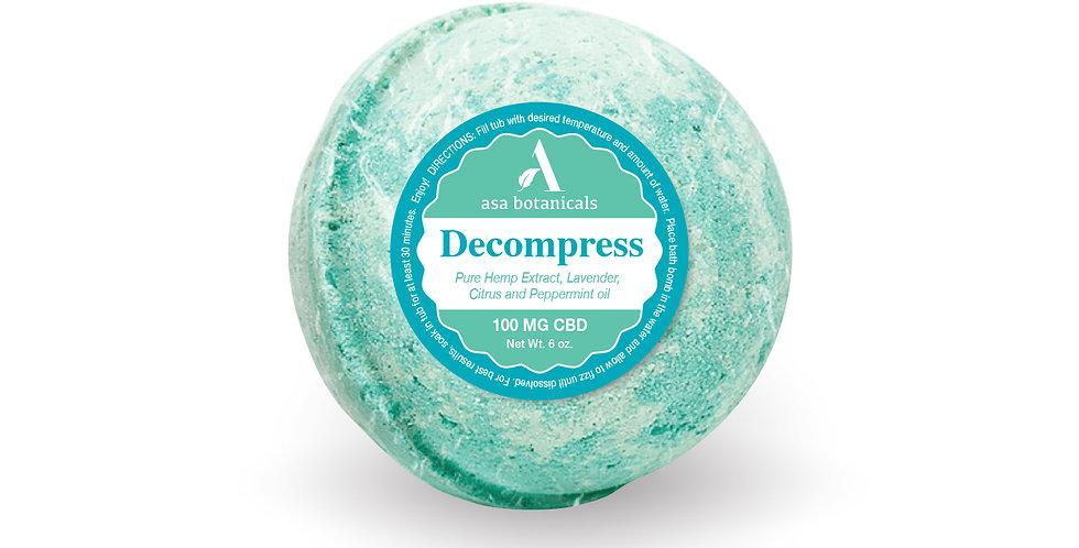 Decompress Bath Bomb