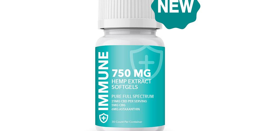 750MG Hemp Immune Support
