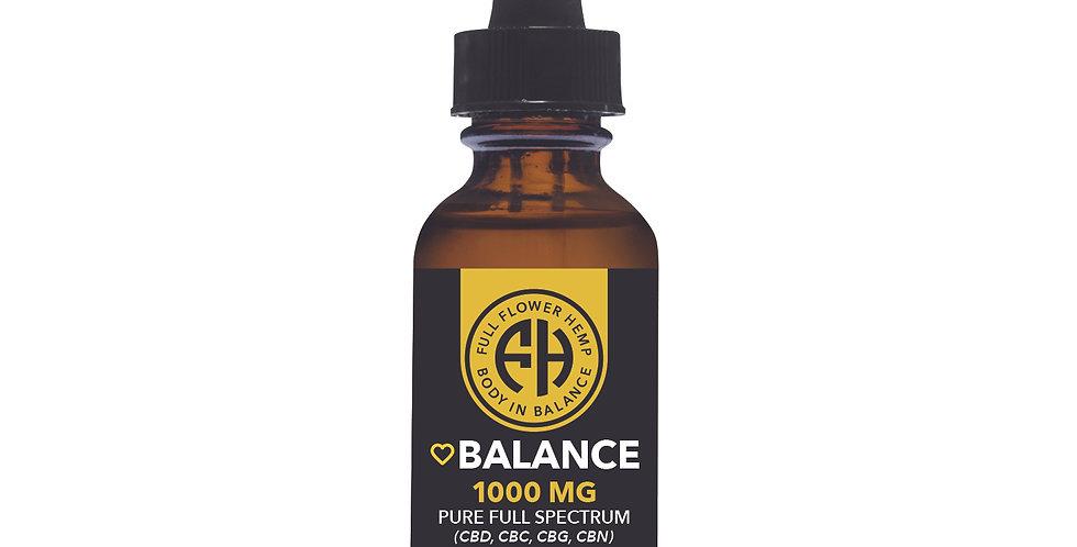 1000MG Hemp Oil