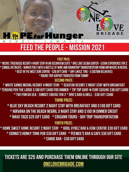 2021 Feed Jamaica Raffle