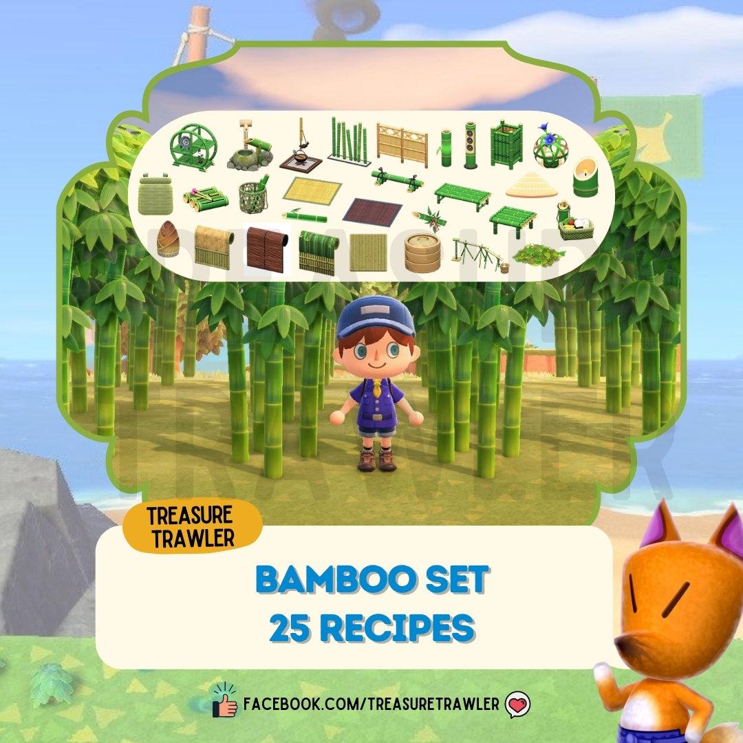 Picture of: Bamboo Recipe Set Crafting Materials Treasuretrawler
