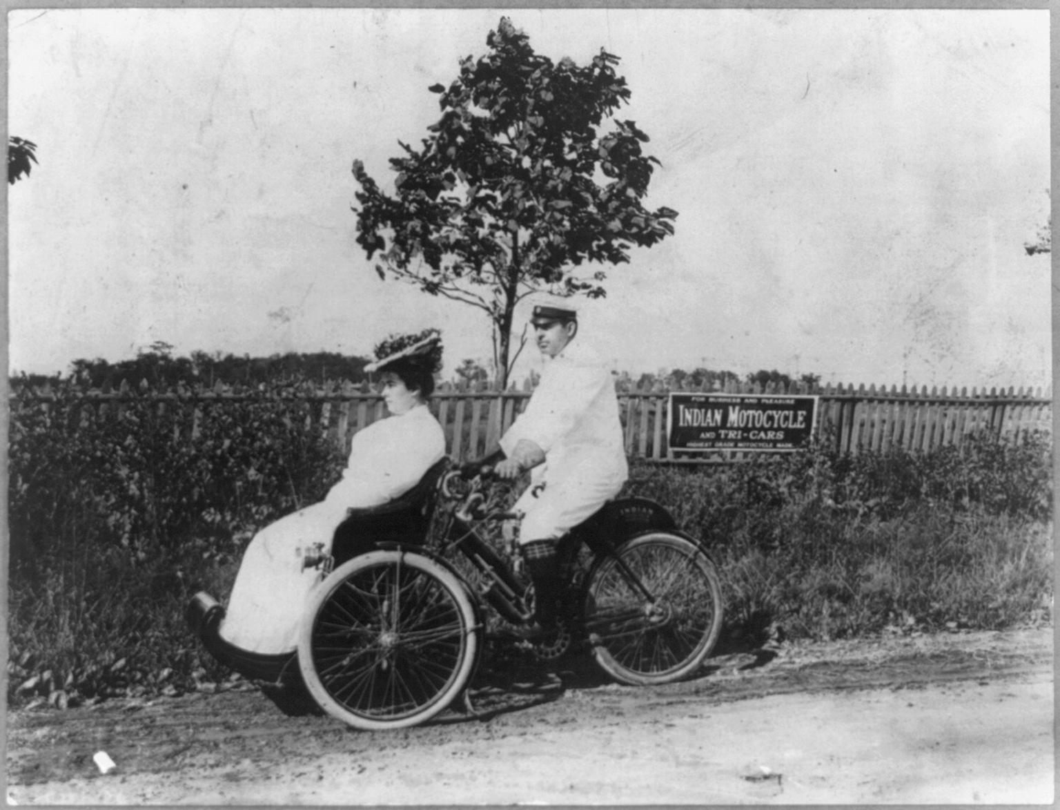 1908 Indian Tri-Car