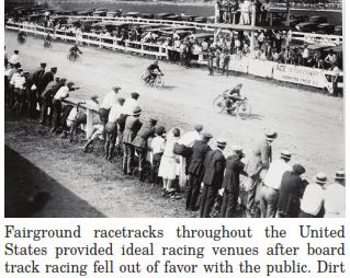 From Board Track to Flat Track