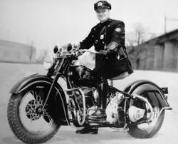 NYC Motorcycle Cop