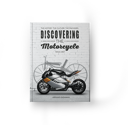 Discovering the Motorcycle front book cover
