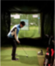 Golf Simulator at Charnwood Golf & Leisure