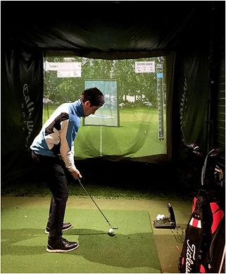 Golf Simulator at Charnwood Golf & Leisure