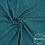 double gaze coton pois dorés lange bébé pétrol bleu canard paon