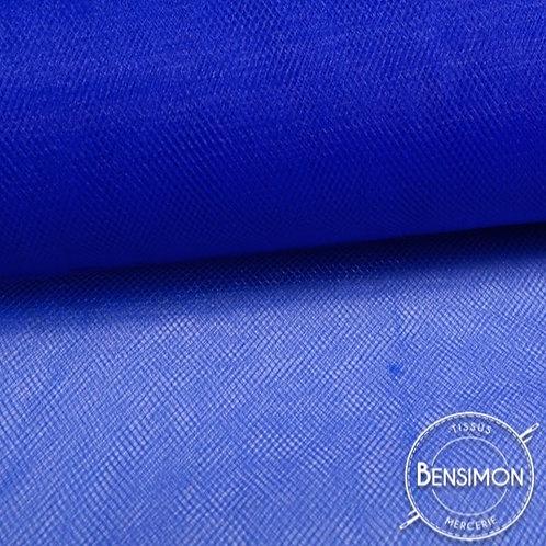 Tissu Tulle souple grande largeur - Bleu Roi Empire X 1M