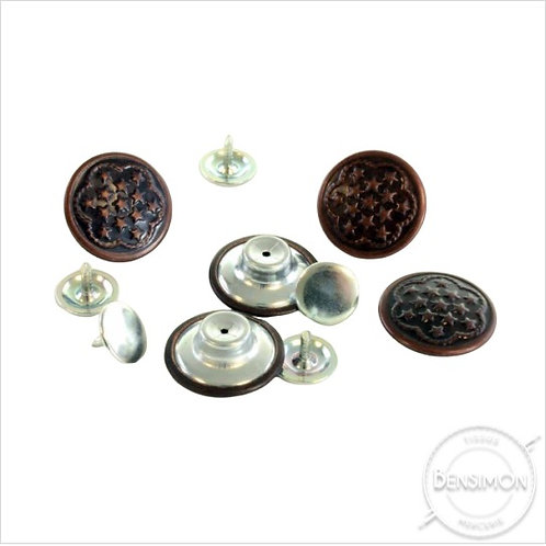 Boutons Jeans 17mm X 5