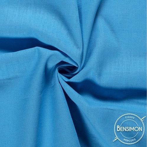 Tissu Lin - Turquoise X 50cm
