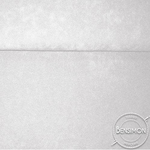 Tissu Daim - Blanc X 50cm